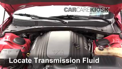 2012 Dodge Charger RT 5.7L V8 Transmission Fluid