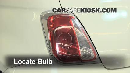 2012 Fiat 500 Pop 1.4L 4 Cyl. Lights Brake Light (replace bulb)