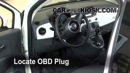 2012 Fiat 500 Pop 1.4L 4 Cyl. Lumière « Check engine » du moteur