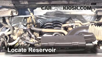 2012 Ford F-150 XLT 5.0L V8 FlexFuel Crew Cab Pickup Líquido limpiaparabrisas