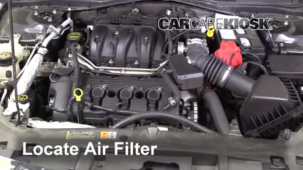 2012 Ford Fusion SEL 3.0L V6 FlexFuel Air Filter (Engine)