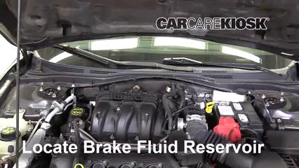 2012 Ford Fusion SEL 3.0L V6 FlexFuel Brake Fluid