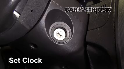 2012 Ford Fusion SEL 3.0L V6 FlexFuel Clock