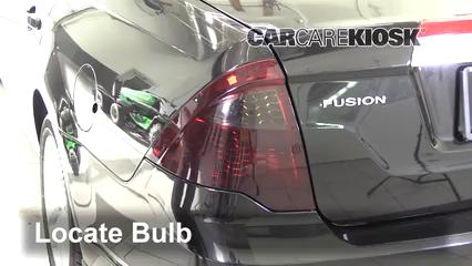 2012 Ford Fusion SEL 3.0L V6 FlexFuel Lights