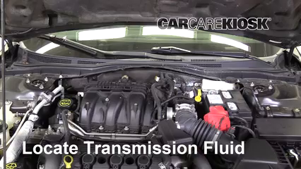 2012 Ford Fusion SEL 3.0L V6 FlexFuel Transmission Fluid