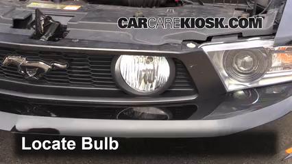 2012 Ford Mustang GT 5.0L V8 Coupe Luces Luz de niebla (reemplazar foco)