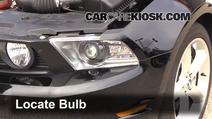 2012 Ford Mustang GT 5.0L V8 Coupe Luces Luz de estacionamiento (reemplazar foco)