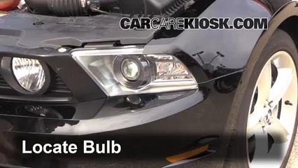 2012 Ford Mustang GT 5.0L V8 Coupe Luces Luz de giro delantera (reemplazar foco)