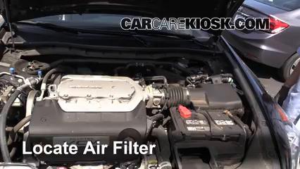 2012 Honda Accord EX-L 3.5L V6 Sedan Filtre à air (moteur)