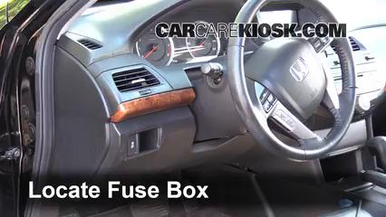 2012 Honda Accord EX-L 3.5L V6 Sedan Fusible (intérieur)