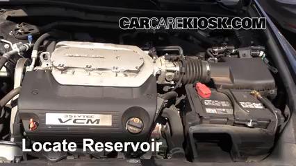 2012 Honda Accord EX-L 3.5L V6 Sedan Liquide essuie-glace