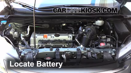 2012 Honda CR-V EX-L 2.4L 4 Cyl. Batería