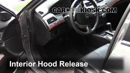 2012 Honda Crosstour EX-L 3.5L V6 Capot