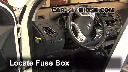 2012 Hyundai Tucson Limited 2.4L 4 Cyl. Fuse (Interior)