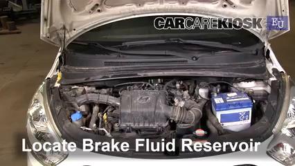 2012 Hyundai i10 Era 1.1L 4 Cyl. Brake Fluid