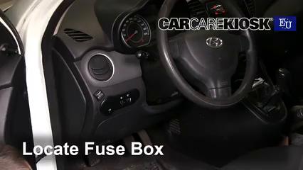 2012 Hyundai i10 Era 1.1L 4 Cyl. Fuse (Interior)