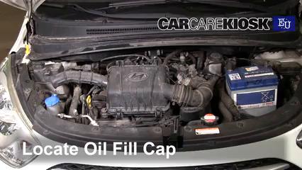 2012 Hyundai i10 Era 1.1L 4 Cyl. Oil
