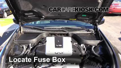 2012 Infiniti G25 X 2.5L V6 Fusible (motor)