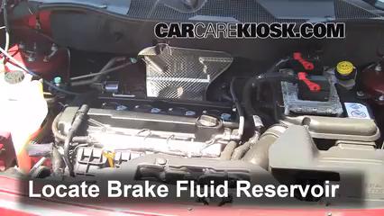2012 Jeep Patriot Sport 2.0L 4 Cyl. Brake Fluid Check Fluid Level