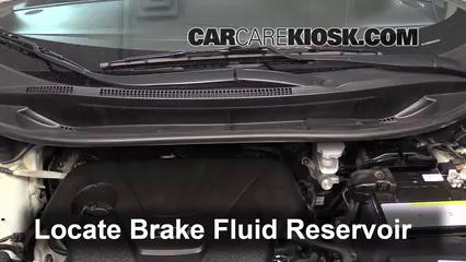 2012 Kia Rio5 LX 1.6L 4 Cyl. Brake Fluid