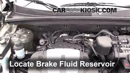 2012 Kia Sorento EX 3.5L V6 Brake Fluid