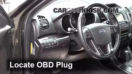2012 Kia Sorento EX 3.5L V6 Check Engine Light