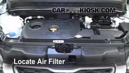2012 Kia Soul ! 2.0L 4 Cyl. Air Filter (Engine)