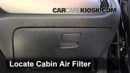 2012 Kia Sportage EX 2.4L 4 Cyl. Air Filter (Cabin)