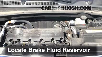 2012 Kia Sportage EX 2.4L 4 Cyl. Brake Fluid