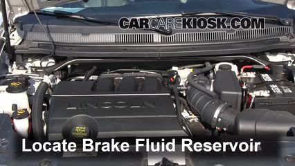 2012 Lincoln MKT 3.7L V6 Brake Fluid