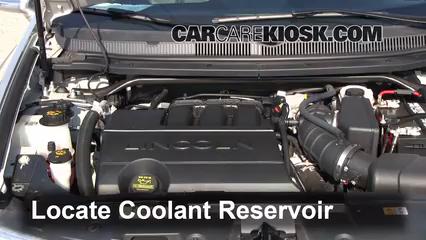 2012 Lincoln MKT 3.7L V6 Coolant (Antifreeze)