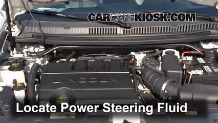 2012 Lincoln MKT 3.7L V6 Power Steering Fluid