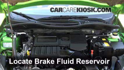 2012 Mazda 2 Touring 1.5L 4 Cyl. Hatchback (4 Door) Brake Fluid