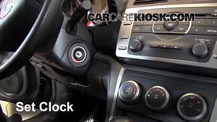 2012 Mazda 6 i 2.5L 4 Cyl. Clock