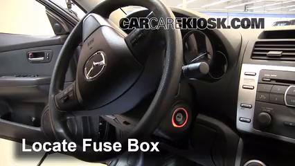 2012 Mazda 6 i 2.5L 4 Cyl. Fuse (Interior)