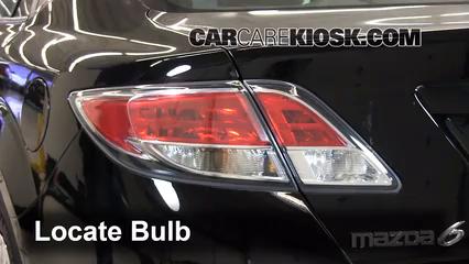 2012 Mazda 6 i 2.5L 4 Cyl. Lights