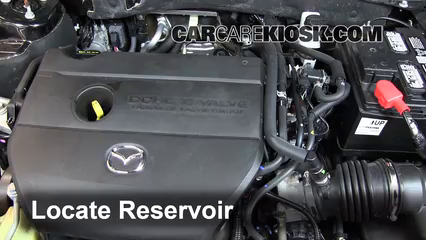 2012 Mazda 6 i 2.5L 4 Cyl. Windshield Washer Fluid