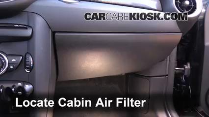 2012 Mini Cooper S 1.6L 4 Cyl. Turbo Hatchback Filtro de aire (interior)