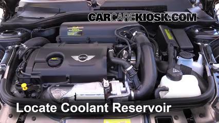 2012 Mini Cooper S 1.6L 4 Cyl. Turbo Hatchback Coolant (Antifreeze)