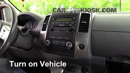 2012 Nissan Frontier SL 4.0L V6 Crew Cab Pickup Bluetooth Par Teléfono