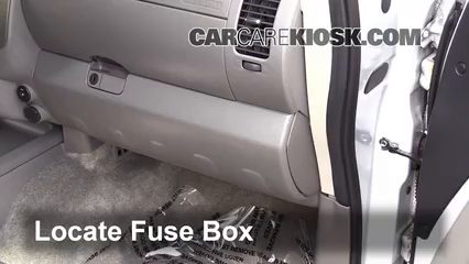 2012 Nissan Frontier SL 4.0L V6 Crew Cab Pickup Fusible (interior) Cambio