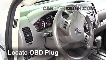 2012 Nissan Frontier SL 4.0L V6 Crew Cab Pickup Compruebe la luz del motor Diagnosticar