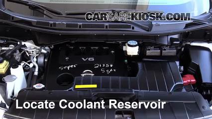 2012 Nissan Quest SV 3.5L V6 Coolant (Antifreeze)