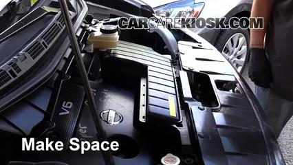 2012 Nissan Quest SV 3.5L V6 Hoses