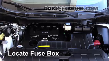 2012 Nissan Quest SV 3.5L V6 Fuse (Engine)