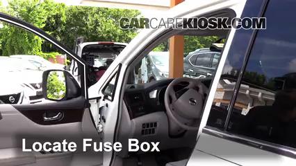 2012 Nissan Quest SV 3.5L V6 Fuse (Interior)
