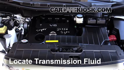2012 Nissan Quest SV 3.5L V6 Transmission Fluid