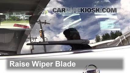 2012 Nissan Quest SV 3.5L V6 Windshield Wiper Blade (Rear)