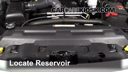 2009 Dodge Ram 1500 SLT 5.7L V8 Crew Cab Pickup (4 Door) Windshield Washer Fluid