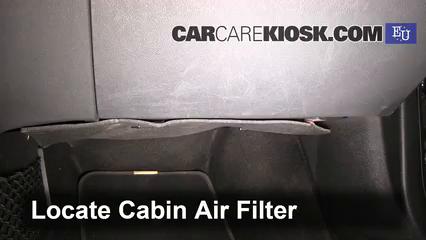 2012 Skoda Superb TDI 4X4 2.0L 4 Cyl. Turbo Diesel Filtro de aire (interior)